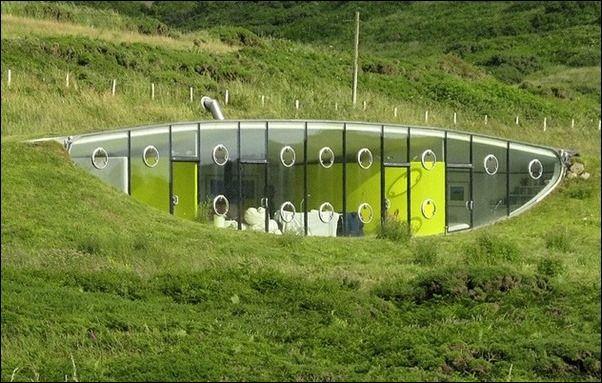Bien connu Maisons intégrées dans le paysage   Architecture au naturel  WQ12