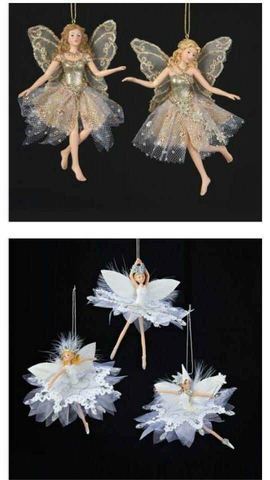 Fairy christmas ornaments - Fairy Christmas Ornaments Christmas Pinterest Christmas