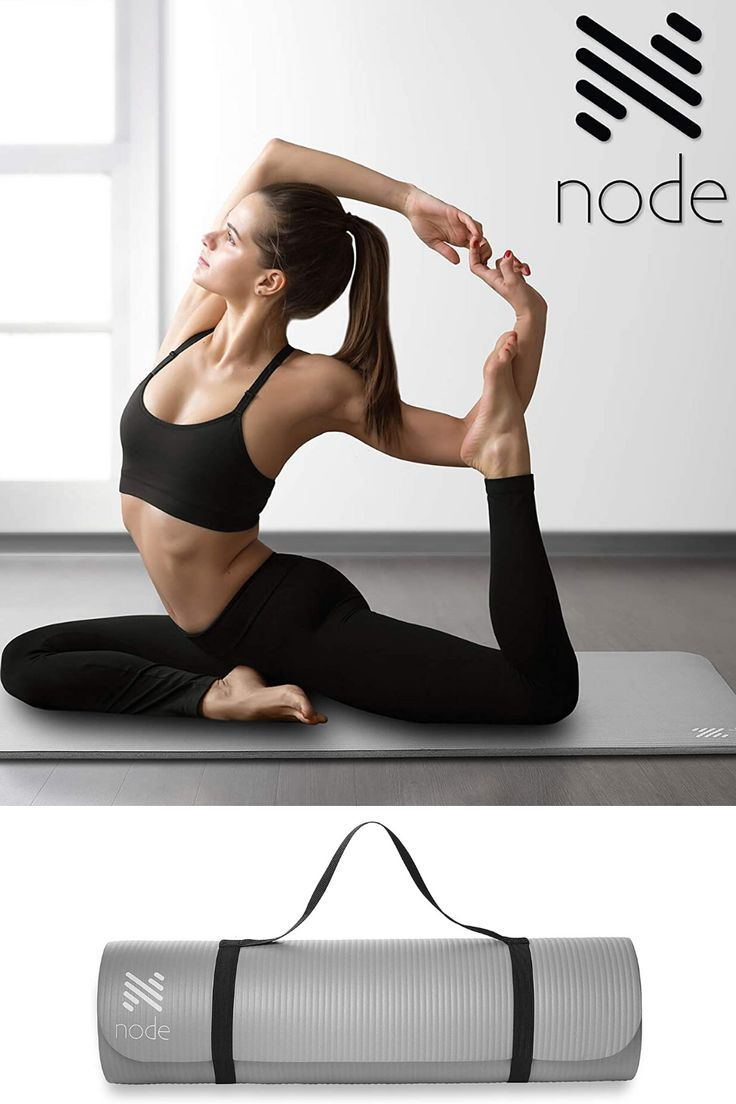 Thick and oversized yoga mat that'll be able to go everywhere with you.    #yoga #yogamat #health #f...