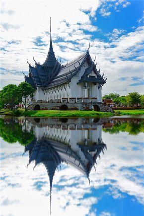 Sanphet Prasat palace, Ayutthaya, Thailand