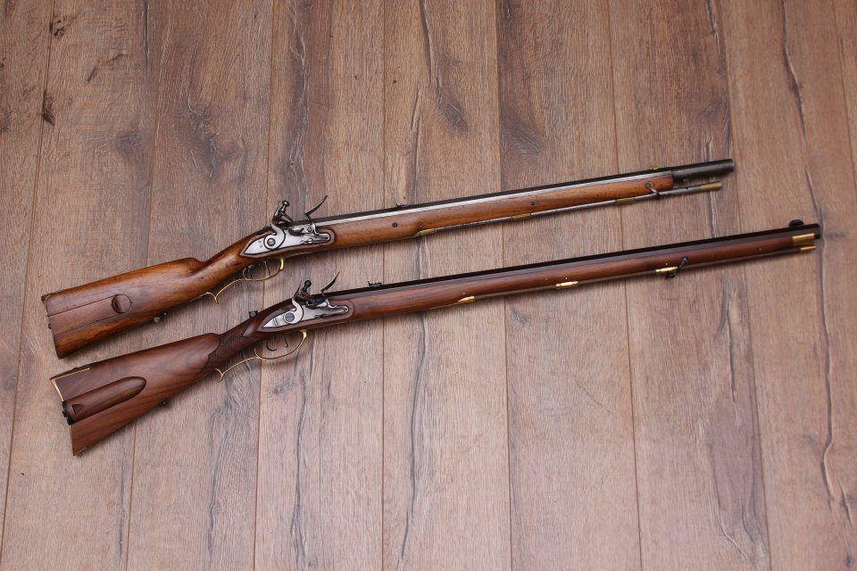 Jaeger rifles  Top: orginal