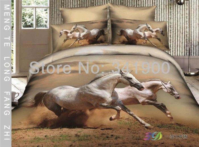 Horse Bedding Sets Horse Benma Bedding Set 4pcs 3d Horse Duvet