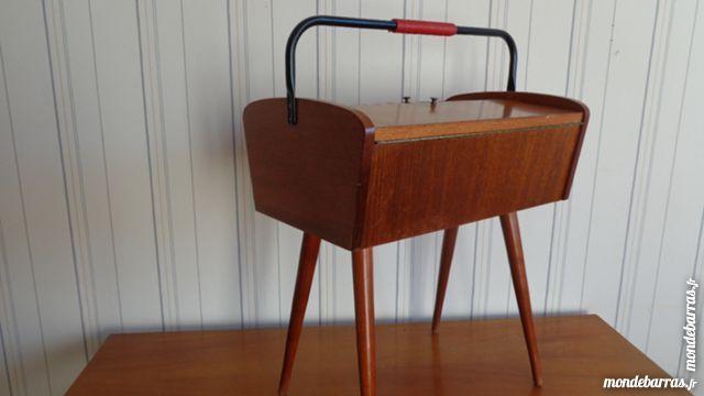 Jolie Travailleuse Vintage Au Design Scandinave Meuble Couture Travailleuse Mobilier De Salon