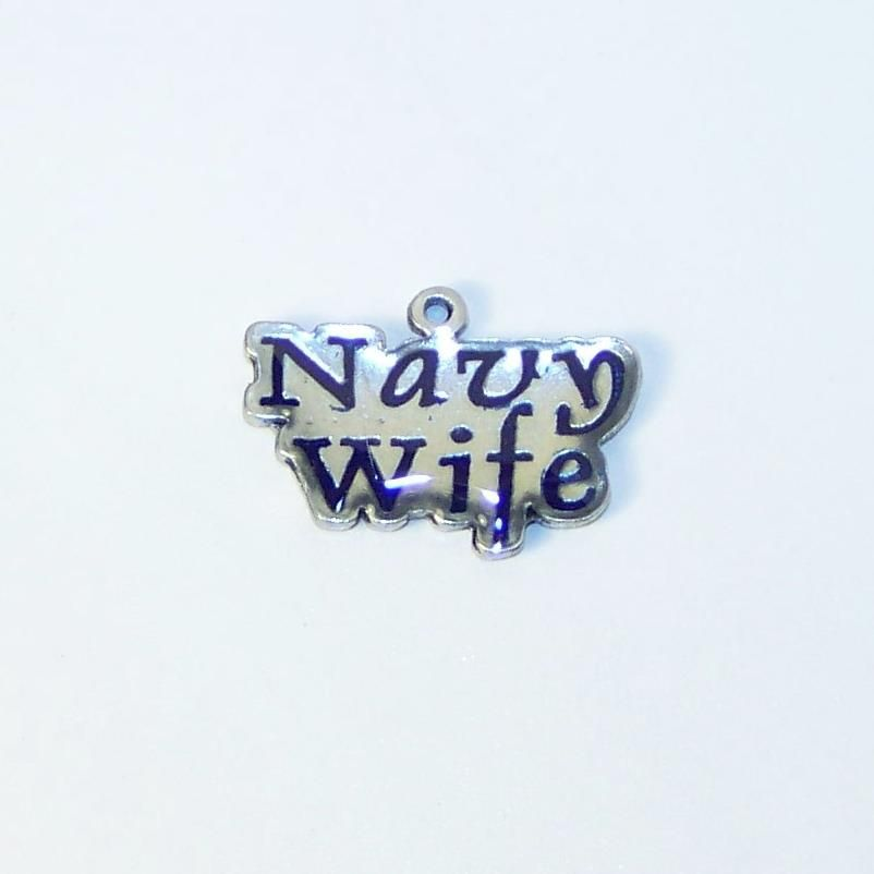 Navy Wife (blue) - $2.25