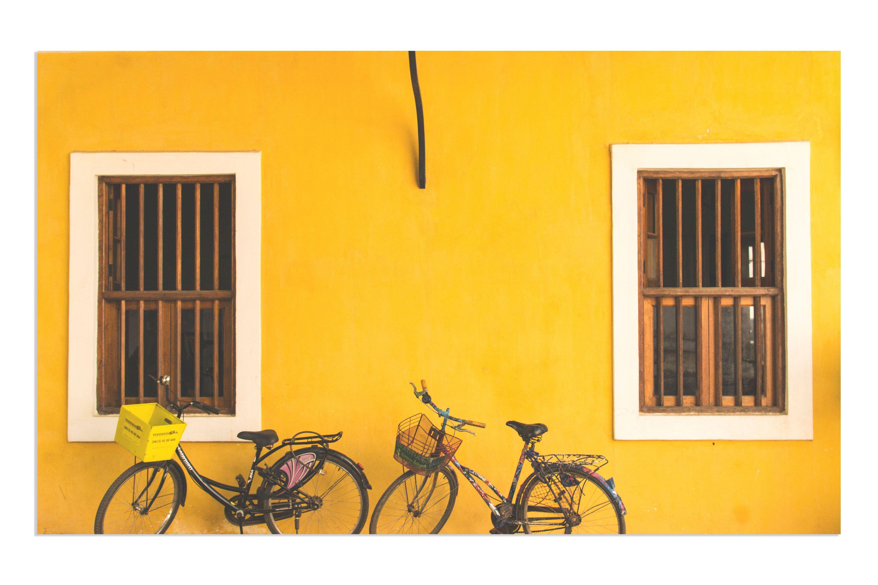 Yellow Houses Bright People Pondicherry Travel Yellow Houses