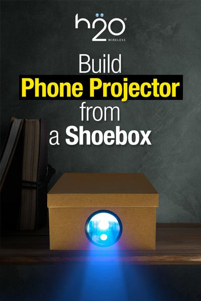 Build A Smartphone Projector With A Shoebox D I Y