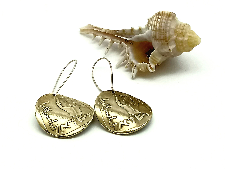Simons Double-sided shiny disc earrings 6SBfNvv
