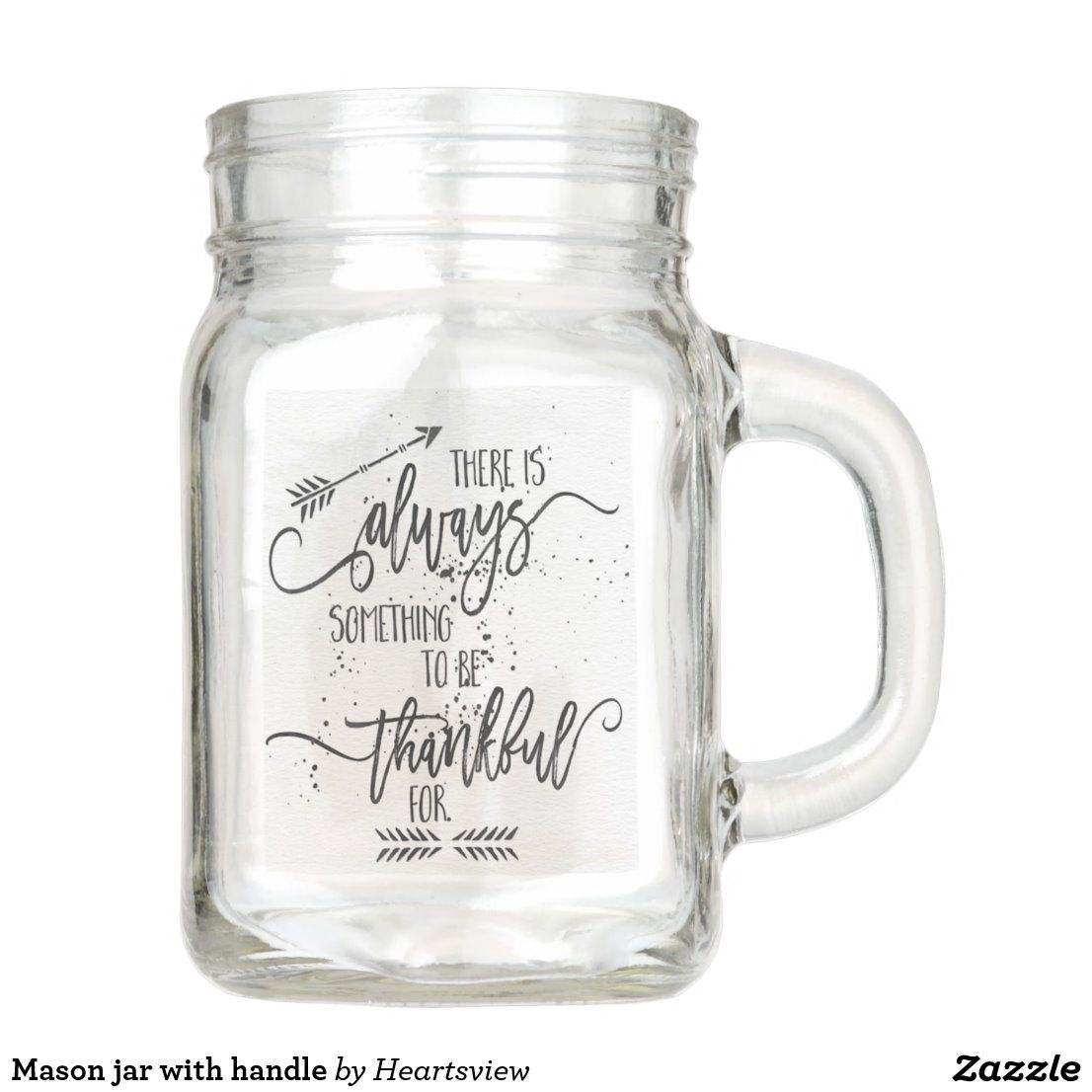 Mason Jar With Handle Zazzle Com In 2020 Mason Jar Wedding Favors Mason Jar Wedding Mason Jars