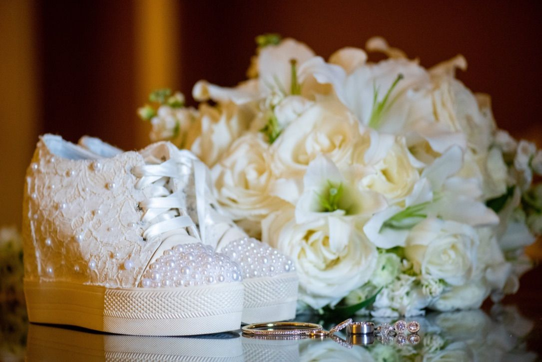 Custom bridal, Sneakers, Wedding sneakers