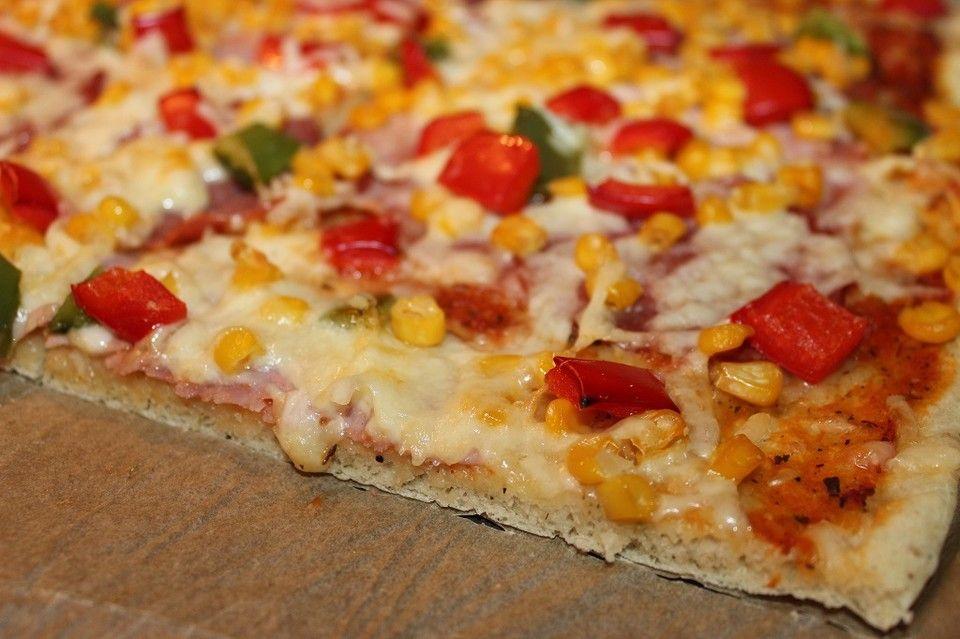 Pizzateig für ein Blech #pizzateig