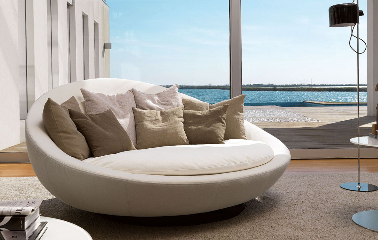Lacoon Island Organic Sofa Design Round Sofa Sofa Design