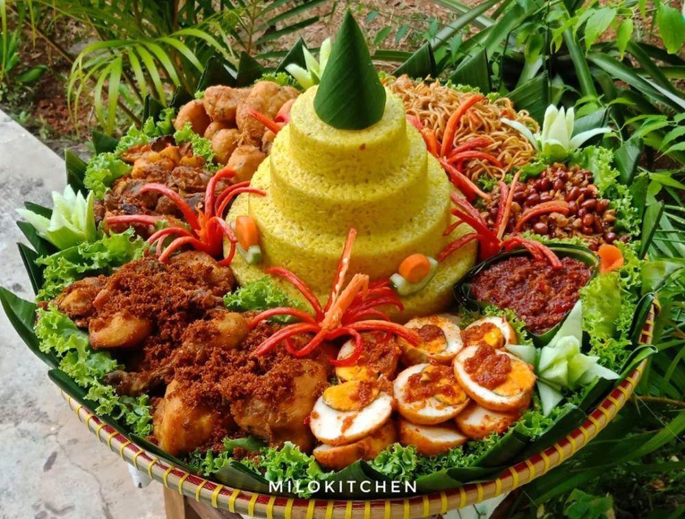 Resep Tumpeng Dan Lauk Berbagai Sumber Resep Masakan Indonesia Ide Makanan Makanan Dan Minuman