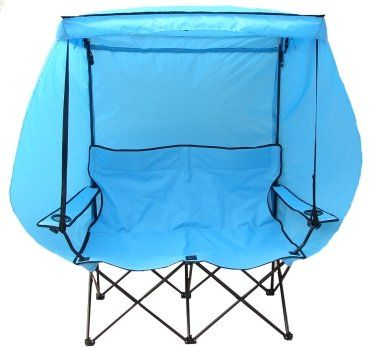 Beach Chairs Canopy Folding Aluminum Lounge
