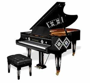 .Gorgeous Art Case Grand Piano http://pinterest.com/cameronpiano