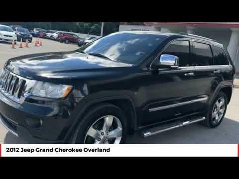 2012 Jeep Grand Cherokee Overland Used Cc362580 Grand Cherokee