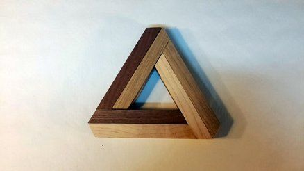 Penrose Triangle Expandable Trivet