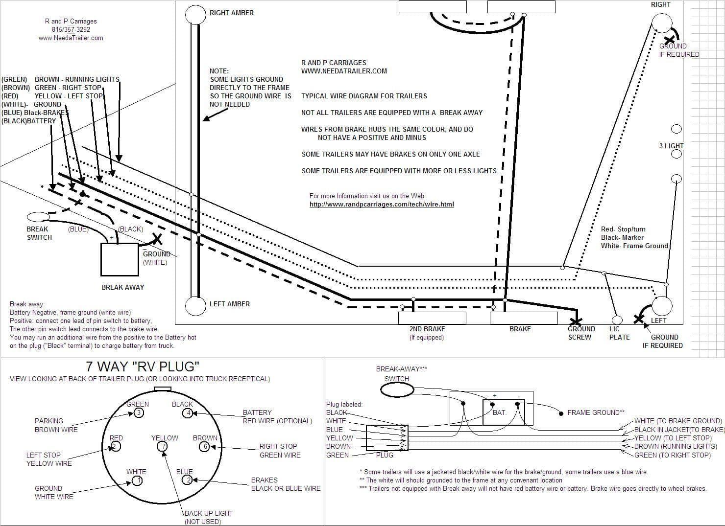 29 Wiring Diagram For Trailer Light And Brakes