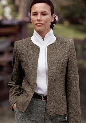 5f2f3af25522 Just found this Womens Dress Jacket - Donegal Tweed Cardigan Jacket -- Orvis  UK on Orvis.com!