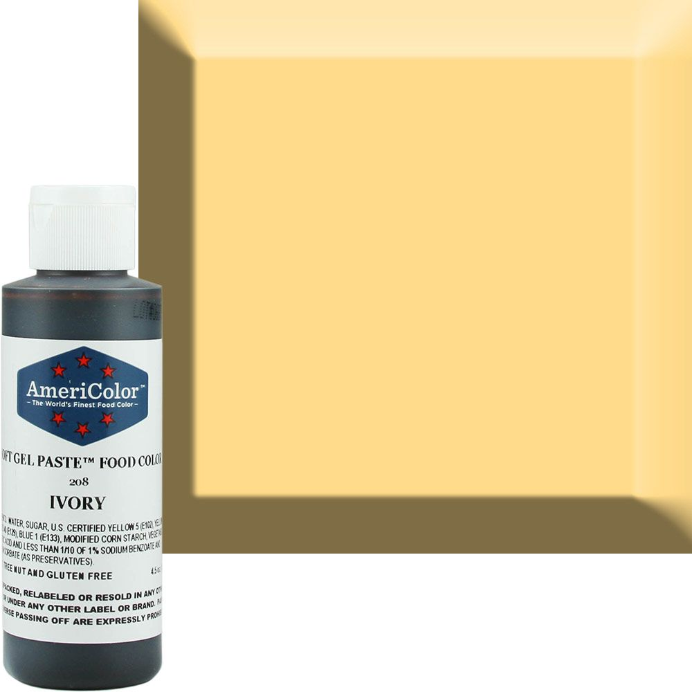 Ivory AmeriColor® Soft Gel Paste™ Food Color | Baking stuff website ...