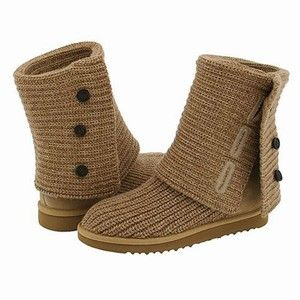 Ugg Boots 5819-1 Classic Cardy Oatmeal