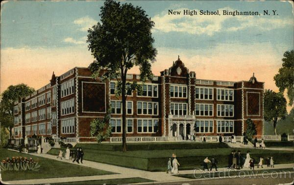 New High School Binghamton Ny Binghamton New York High School