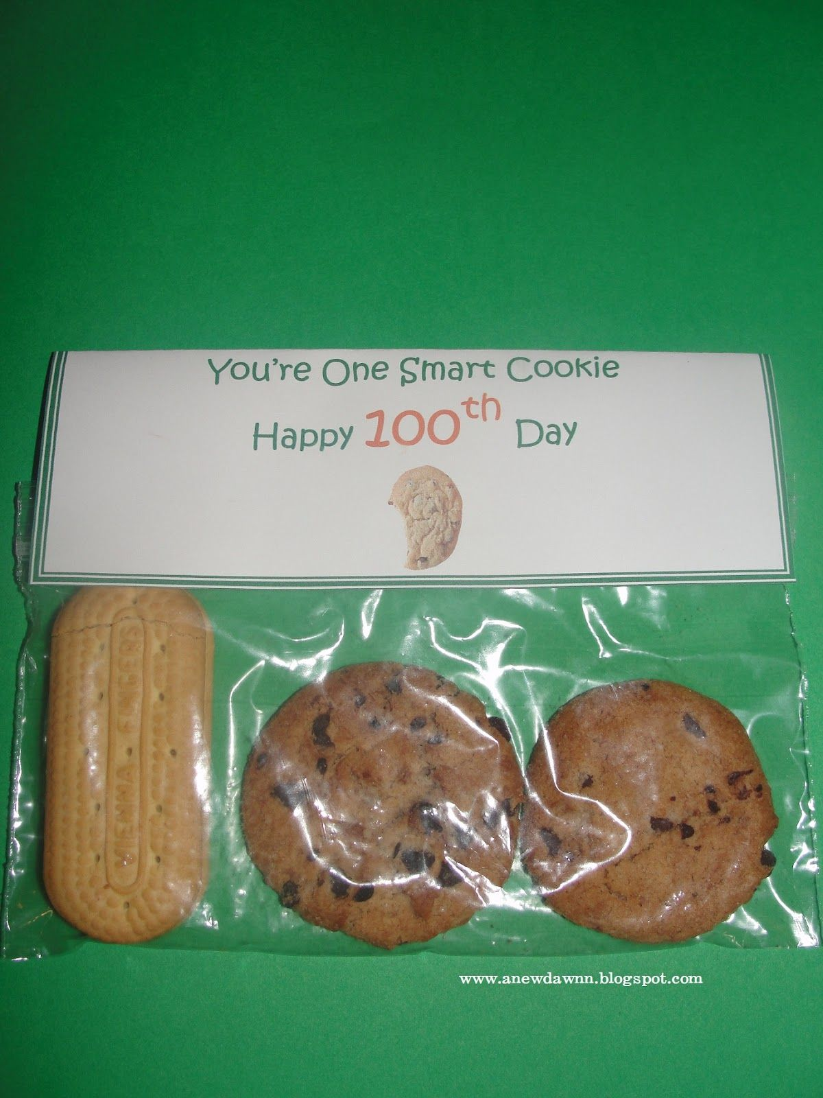 A New Dawnn 100 Day Of School Snack