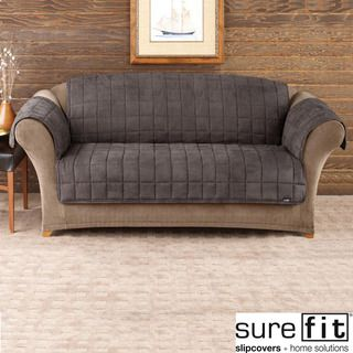 Lovely Shop For Sure Fit Deluxe Pet Mini Check Sofa Cover. Get Free Delivery At  Overstock