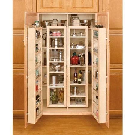 Rev A Shelf 4WP18 57 KIT Pull Out Pantry Organizers 4WP Tall