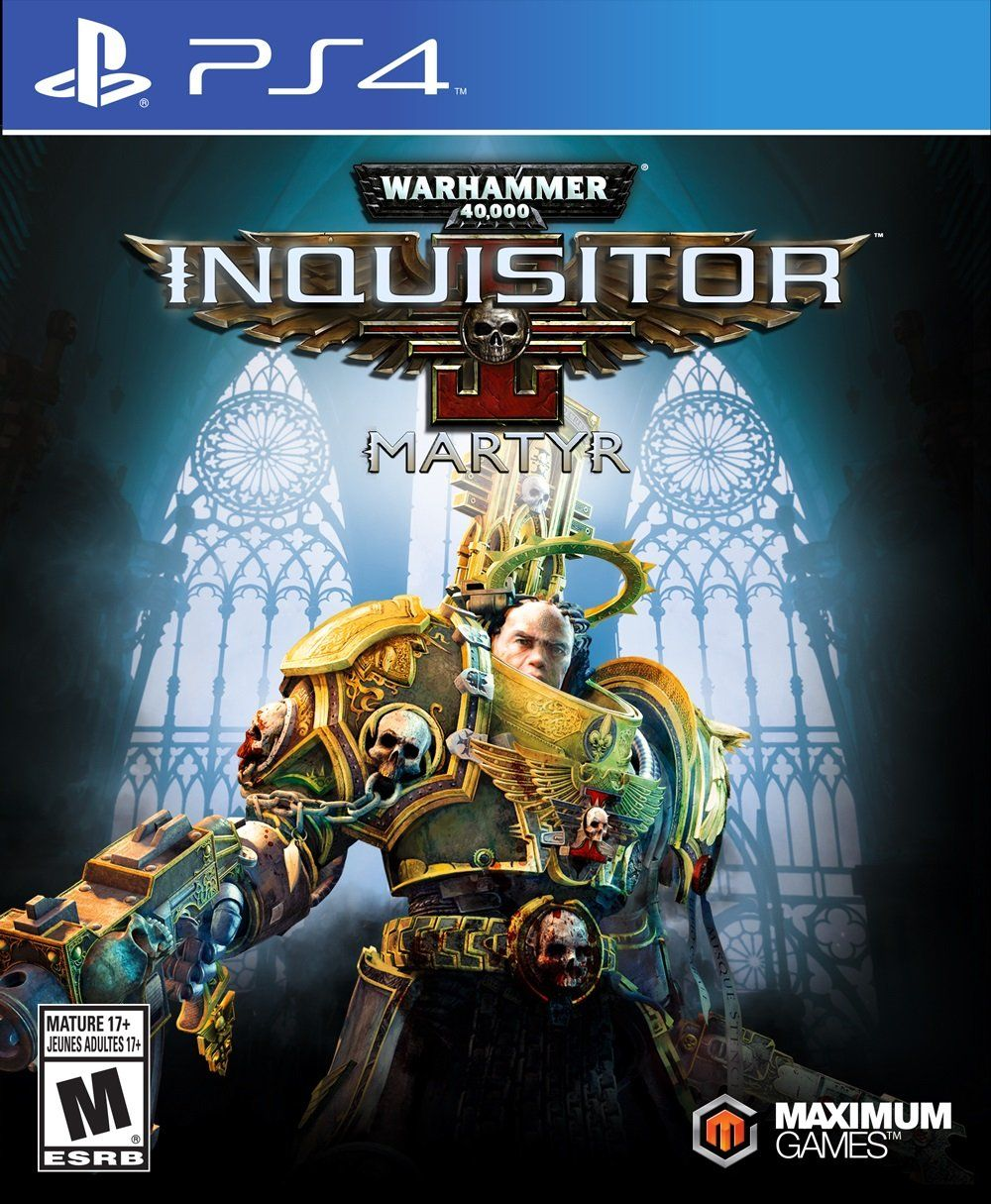 Warhammer 40, 000 Inquisitor Playstation
