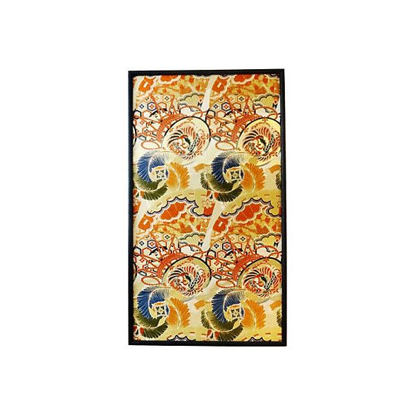 Pre-Owned Japanese Panel of Embroidered Silk ($999) ? liked on Polyvore featuring  sc 1 st  Pinterest & Pre-Owned Japanese Panel of Embroidered Silk ($999) ? liked on ...