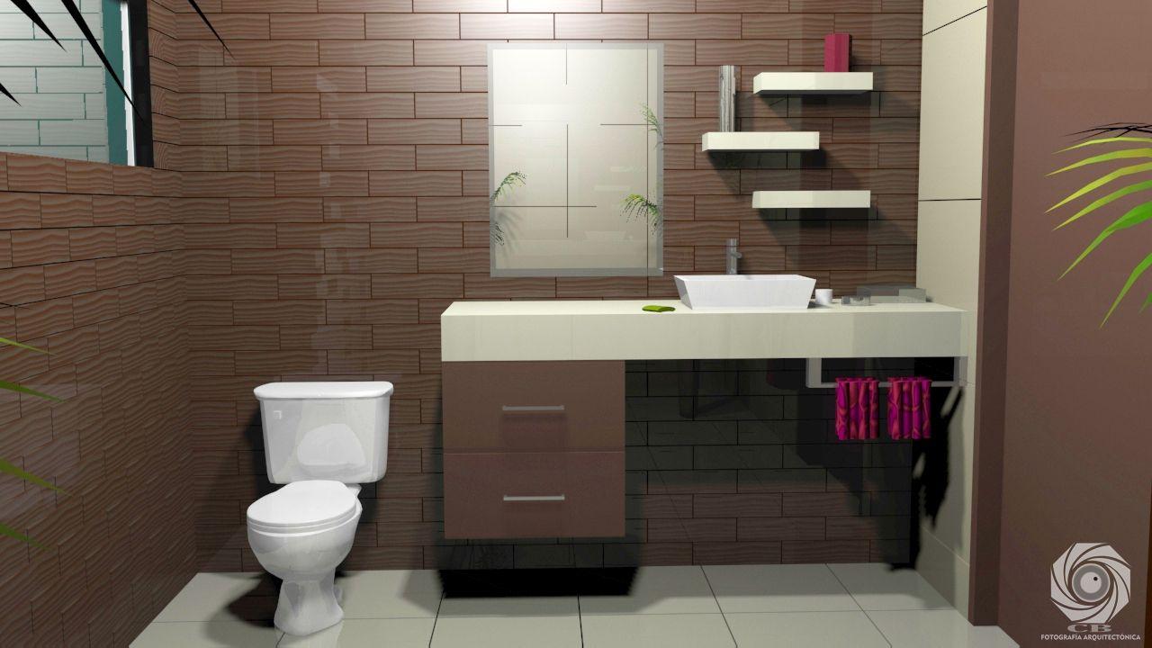 diseño de medio baño en jardines del campestre   renders   pinterest