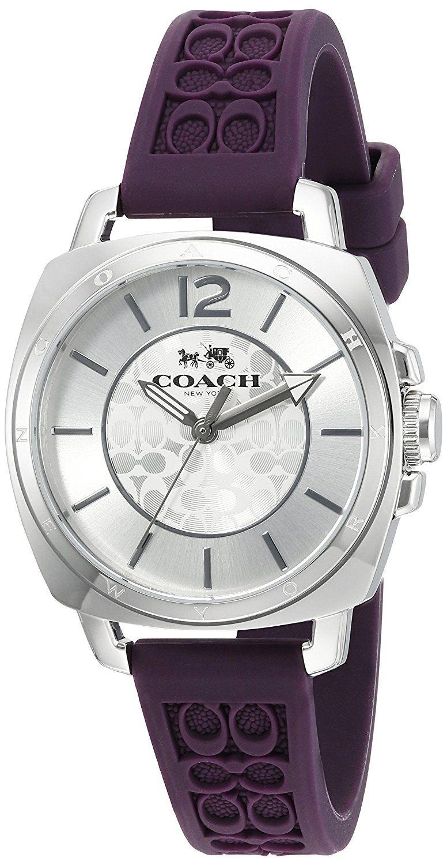 Coach boyfriend womens quartz watch 14502091 hurry