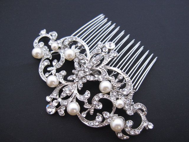 Loving The Idea Of A Simple Sparkly Comb