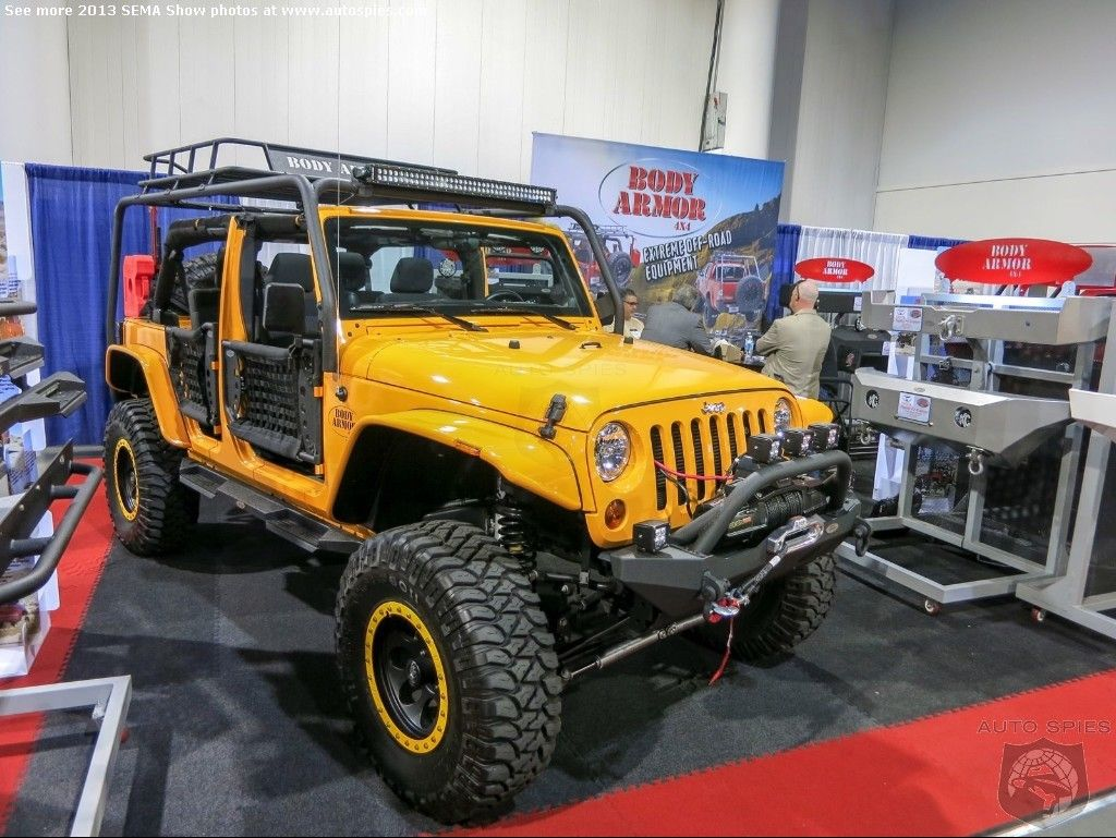 Sema Show Photos Forget The Jeep Jamboree Here Is Where The Next Cool Looking Jeeps Are Born Autospies Auto News Jeep Jamboree Custom Jeep Wrangler Jeep