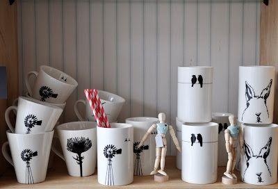 Tamarillo ceramics
