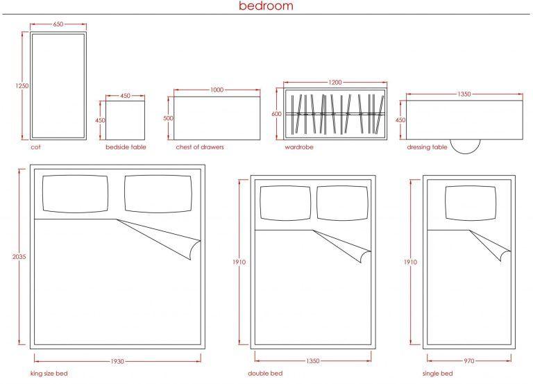 metric data 08  standard furniture sizes  first in