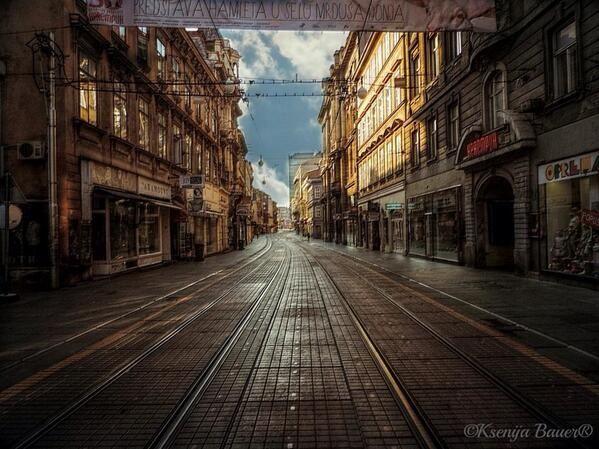 Ilica Street Zagreb Croatia Croatia Zagreb Trip