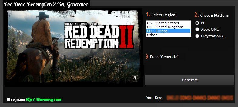 Red dead redemption license key download