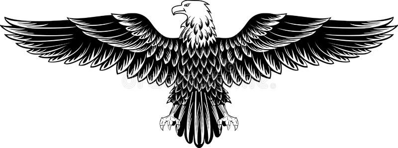 eagle vector image of an eagle with the straightened wings sponsored image vector eagle wings straig eagle images eagle wing tattoos eagle tattoo pinterest