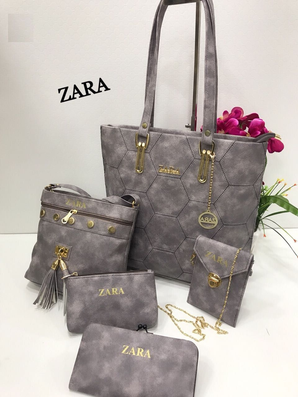 fbc1118e36ff89 ZARA Ladies Bag ComBo Zara Combo Set of 5 Size in image @1399 Free Shipping
