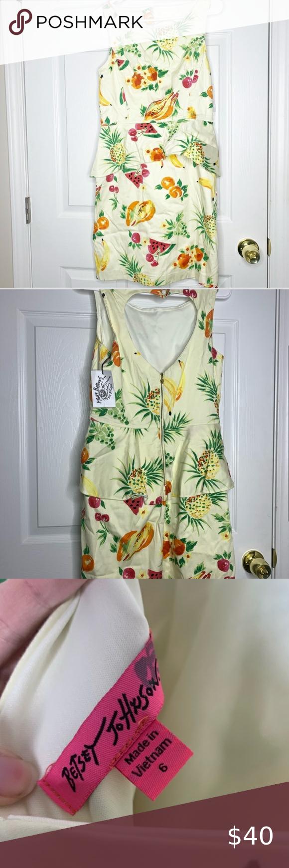 35+ Betsey johnson fruit dress inspirations