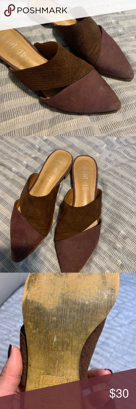 Women's Buckle slide shoes Slides shoes, Mules shoes