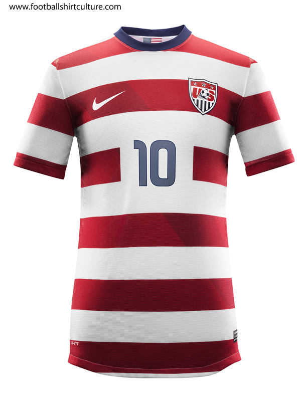80f6e7b22 New US Men National Team Kit via http   www.footballshirtculture.com