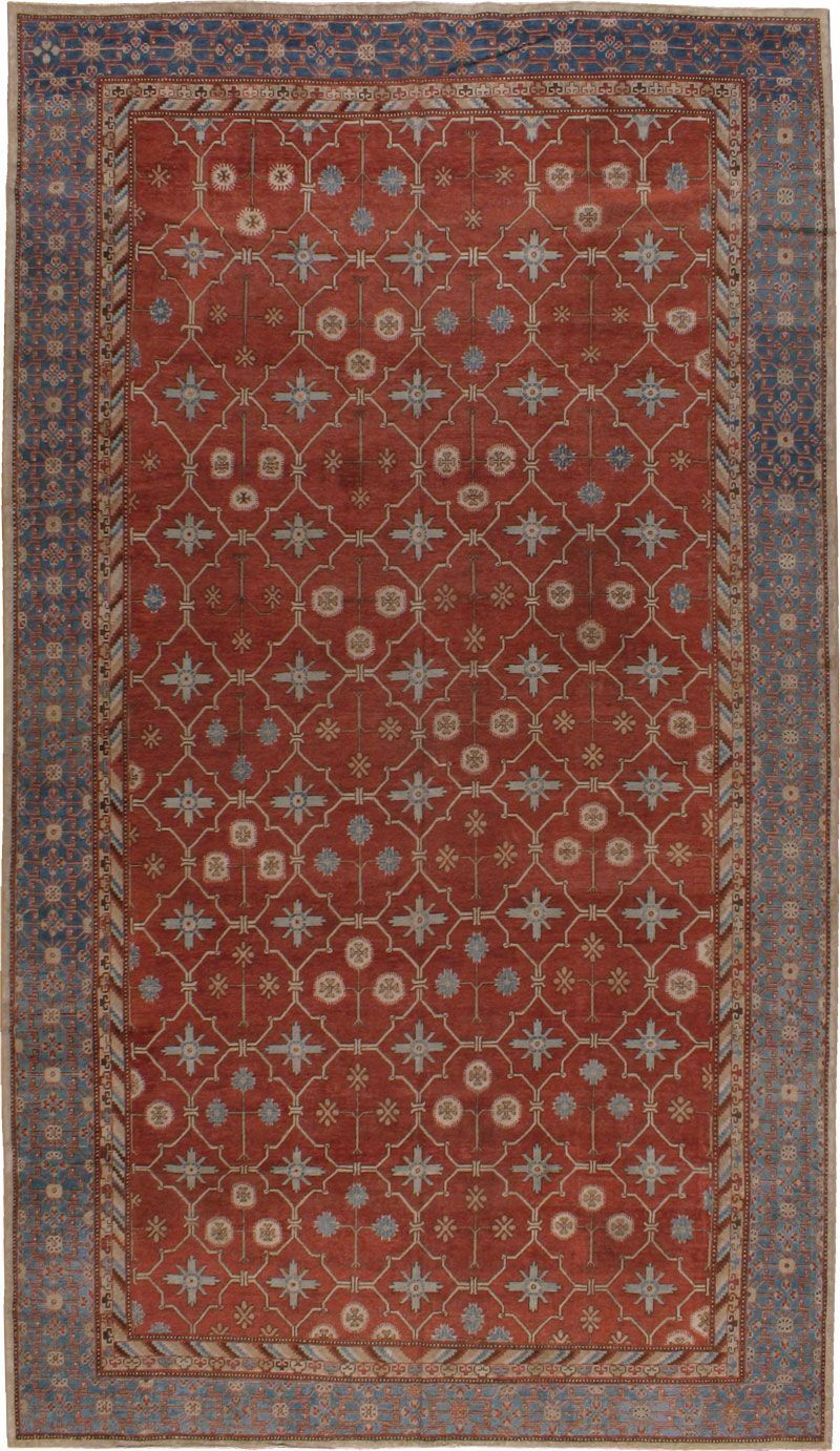 Antique Khotan Gallery Carpet, No. 18232 - from Galerie Shabab