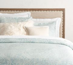 Morgan Harrison Home Luxury Bedding Turquoise Duvet Cover