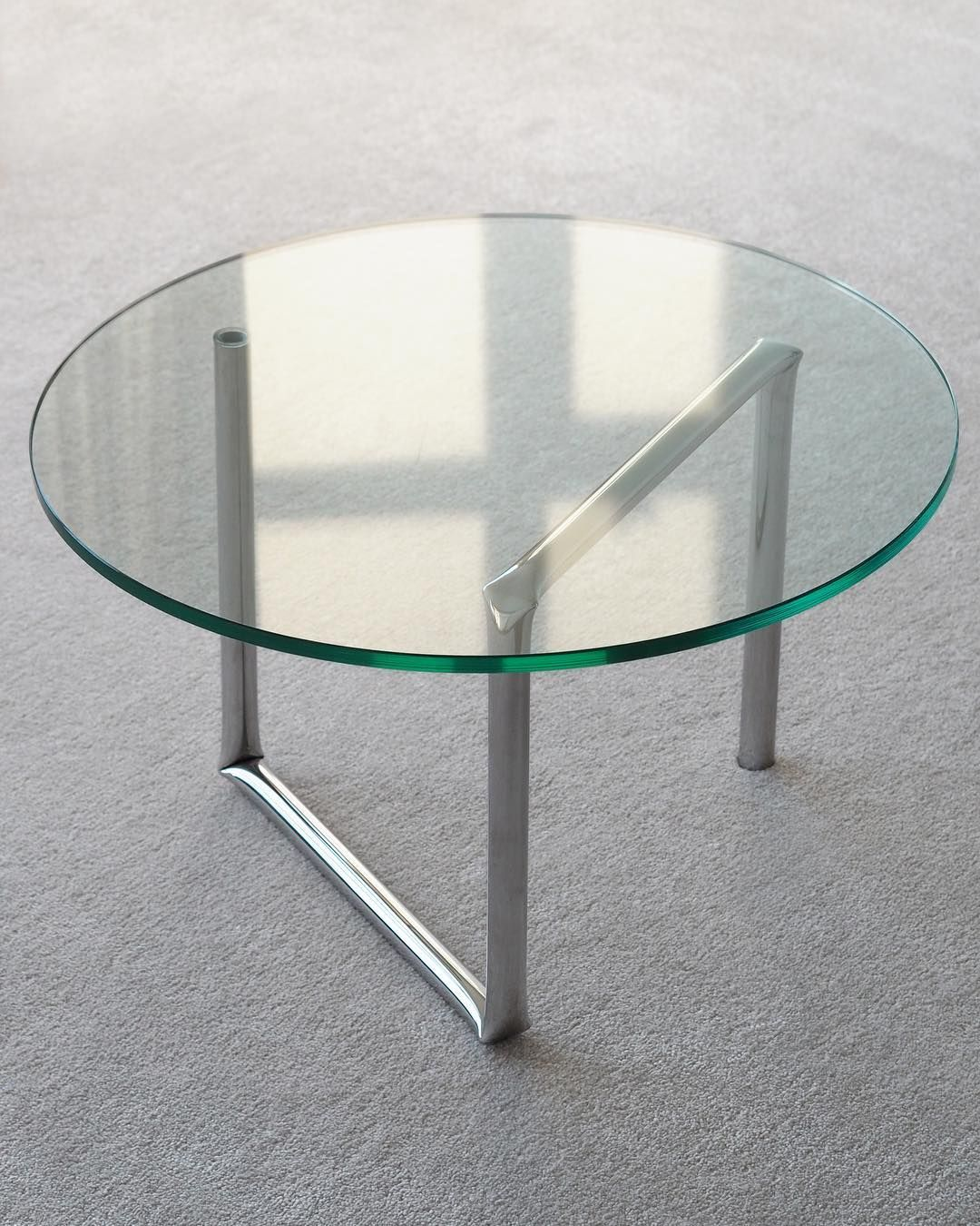 A E T E L I E R On Instagram Four Blunt Bends Turn A Polished Stainless Steel Tube Into Our Knikfraem Table Aetelier Coffee Table House Design Trendy Home [ 1350 x 1080 Pixel ]