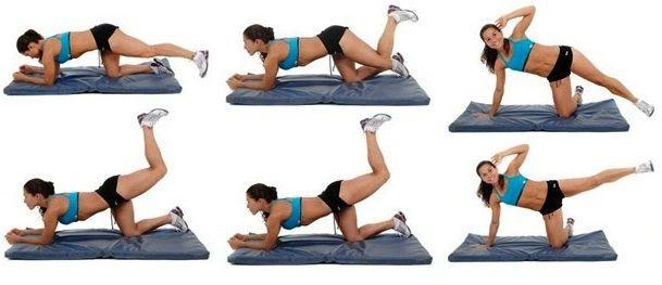Ejercicios para adelgazar muslos y caderas en casa