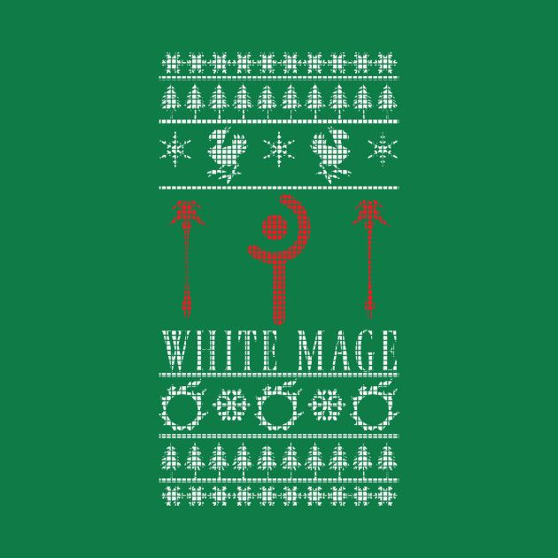 Check Out This Awesome Finalfantasyxivwhitemageuglychristmas