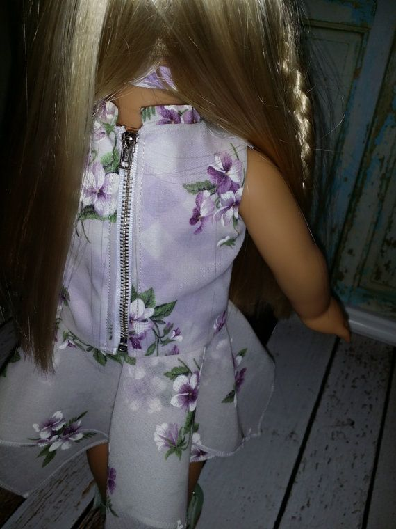 American Girl Doll Clothes I Feel Pretty oh so by TrendyWendysETC