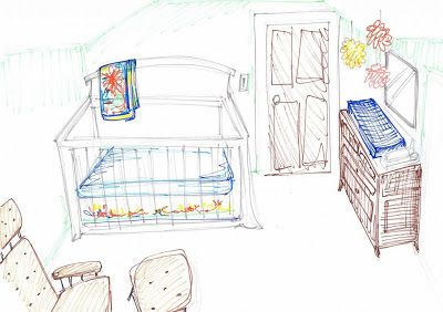 Naptime Tales: Decisions decisions...how to layout your nursery.